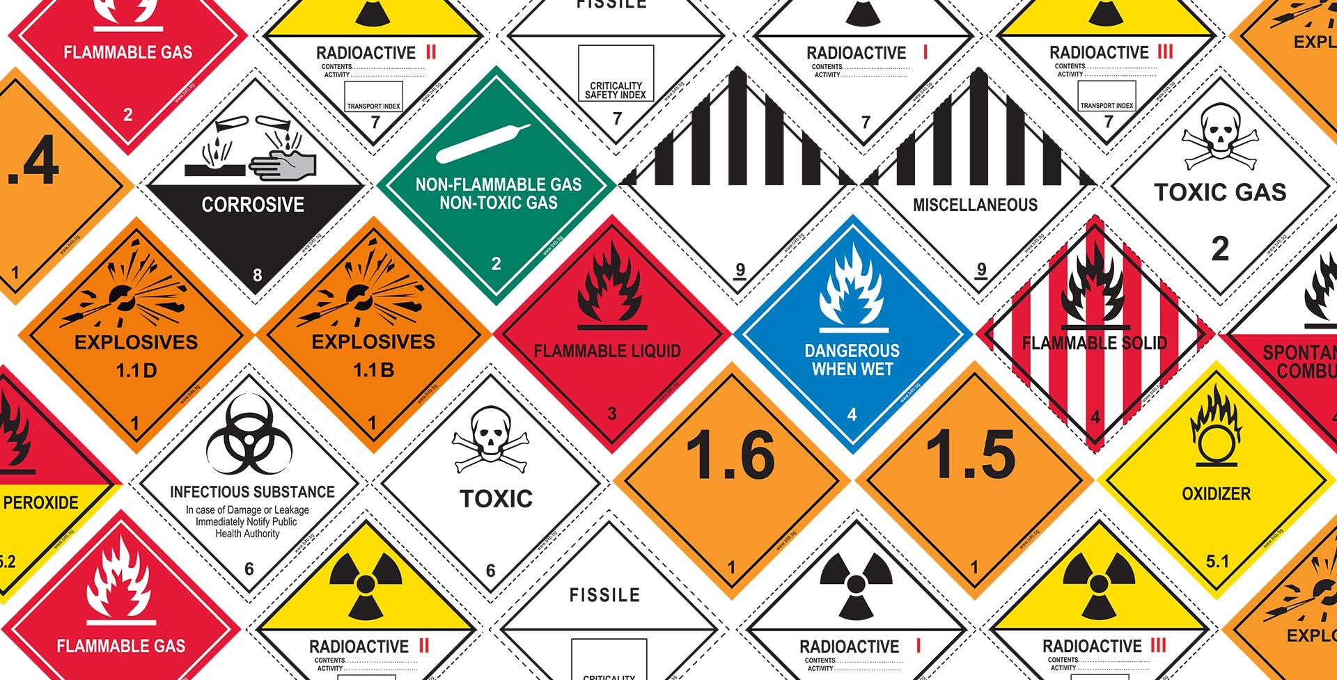 Етикети за опасни товари