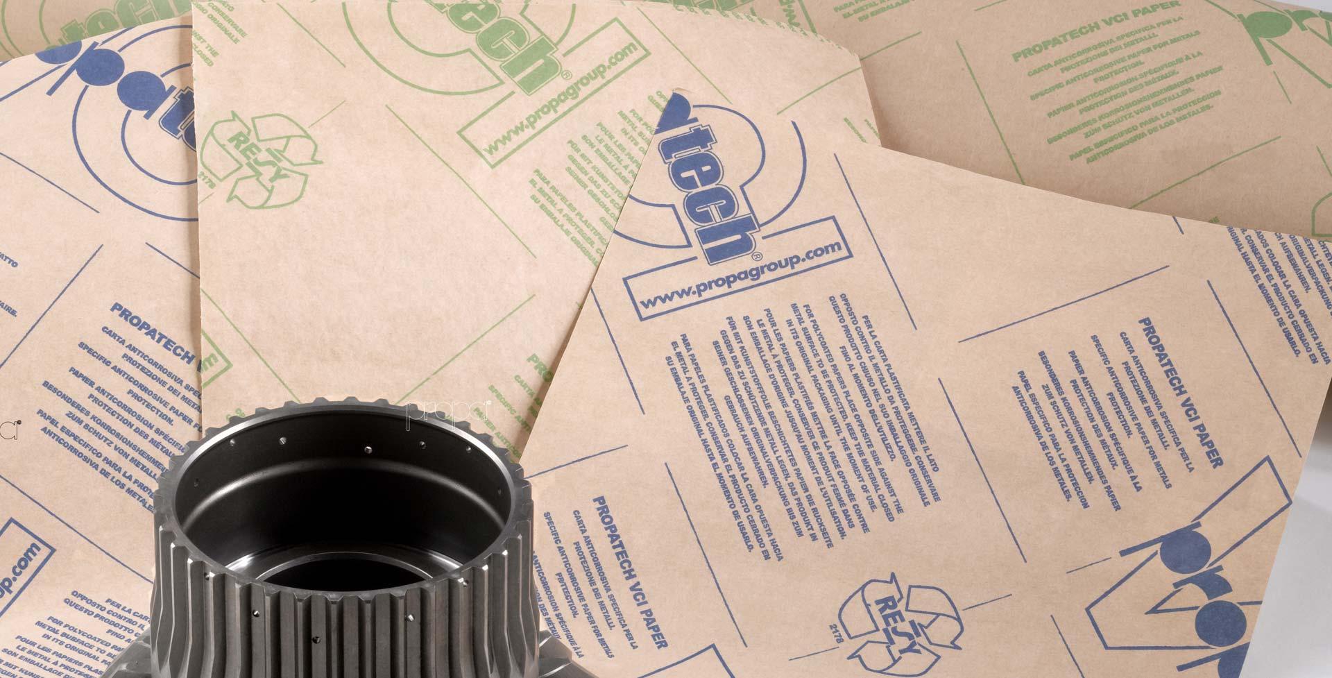 PROPATECH VCI антикорозионни хартии и хартиени торби